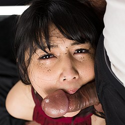 Japanese face fuck